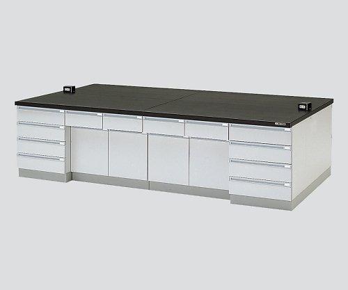 アズワン3-3680-04中央実験台木製タイプケコミ型3600×1500×800 B07BD2RJQN