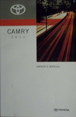 - 2011 Toyota Camry Owners Manual
