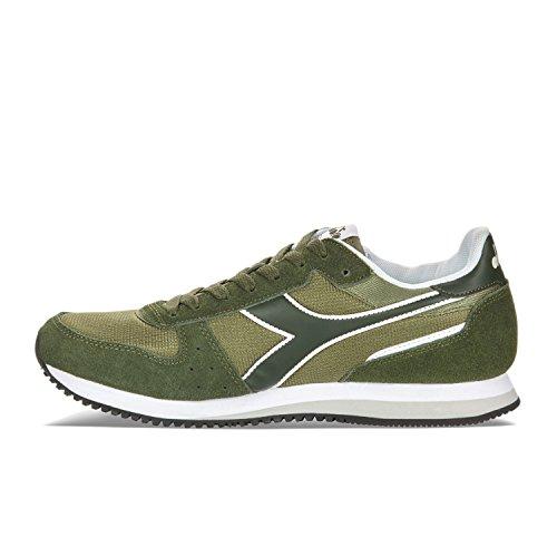 C6253 Fucile Diadora Verde Basso Sneaker a Collo Malone W Olivina verde Donna qwBPqA0x
