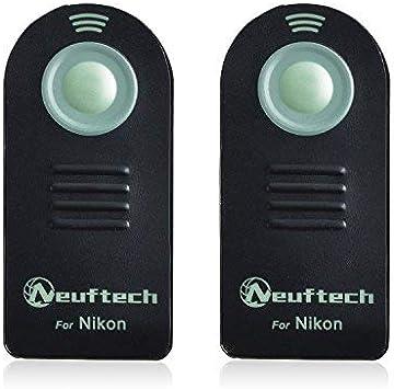CELLONIC/® D/éverrouillage Distance Compatible avec Nikon D3400 D3000 D3300 D5100 D5200 D5300 D610 D7000 D7100 D7500 D90 D/éclencheur Infrarouge ML-L3 T/él/écommande Remote Control Shutter Release Trigger