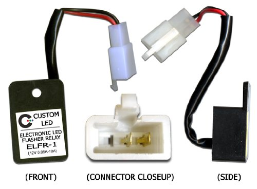 Honda Custom Motorcycles - Custom LED Electronic LED Flasher Relay for LED Blinkers on Motorcycles - ELFR-1