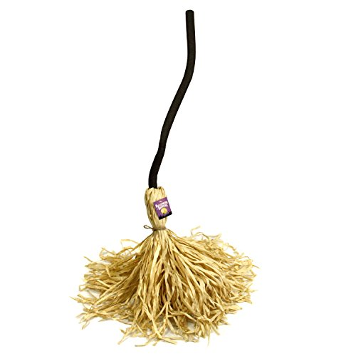 straw witch broom - 6
