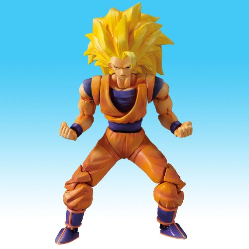Figurine dragon ball z sangoku super sayen 3 - Sayen legendaire ...