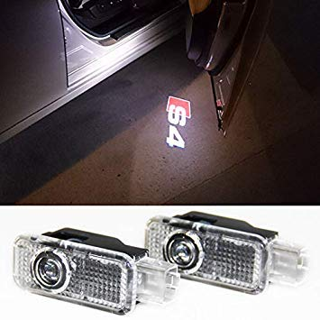 Uniqus 2PC Car LED Door Warning Light Welcome Logo Projector