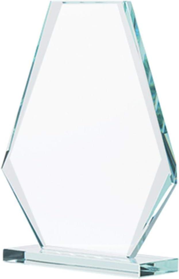 Engraving Included Dedication Jade Pyramid Crystal Award 6 H Custom Dedication Award