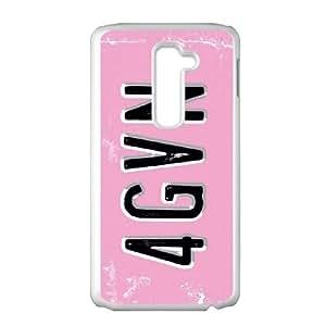 LG G2 Cell Phone Case White Peter Horjus Forgiven License I2C1YI