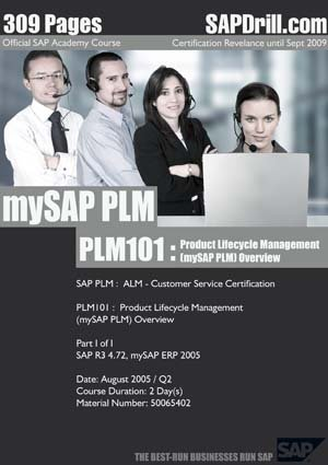 SAP PLM Data / Customer Service Official Certification Course