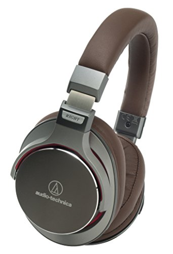 Audio-Technica ATH-MSR7 GM Gun-Metal Grey High Resolution Audio Over-Ear Headphone Japan Import