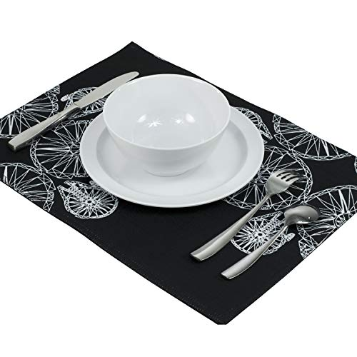 Seven20 SW11163 Star Wars Millennium Falcon Placemat, Medium Black