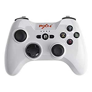 Apple Certified MFi Controller - PXN 6603W Speedy Bluetooth Controller Wireless Gamepad for iPhone/ iPad/ iPod touch/ New Apple TV 4 (White)