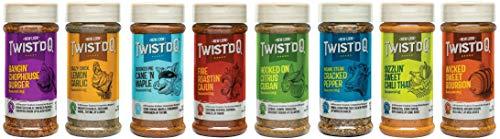 Twist'd Q Extreme 8 Pack Seasoning Gift Box Set