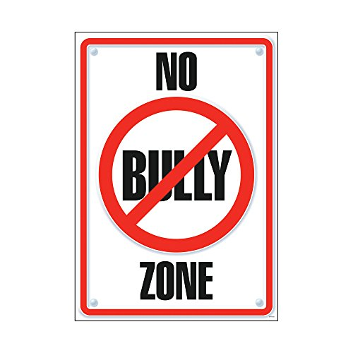 - Argus No Bully Zone Poster, 13.375