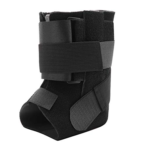 ZJchao Brace Foot Drop Orthosis,Adjustable Ankle Joint Support Varus Valgus Corrector Protection for Drop Foot Orthotic Brace, Improved Walking Gait, Prevents Cramps Ankle Sprains