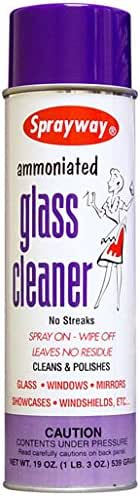 Glass Cleaner: Sprayway Ammoniated Glass Cleaner