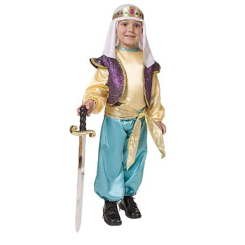 Wholesale Arabian Sultan Boys Costume By Dress Up America for sale