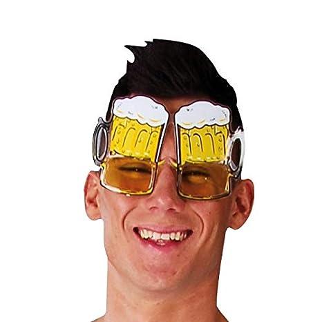 tazas gafas de la cerveza espumosos juego divertido disfraz ...