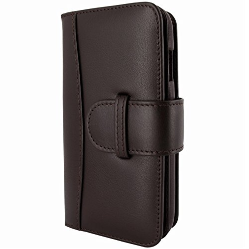 Piel Frama Wallet Case for Apple iPhone 6 Plus - Brown by Piel Frama