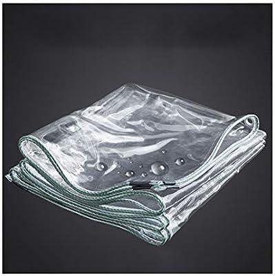 ZXXY Lona Impermeable, Cubierta de Lona Multiusos Transparente a ...