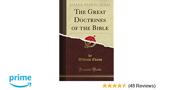 Basic Doctrines Of The Bible