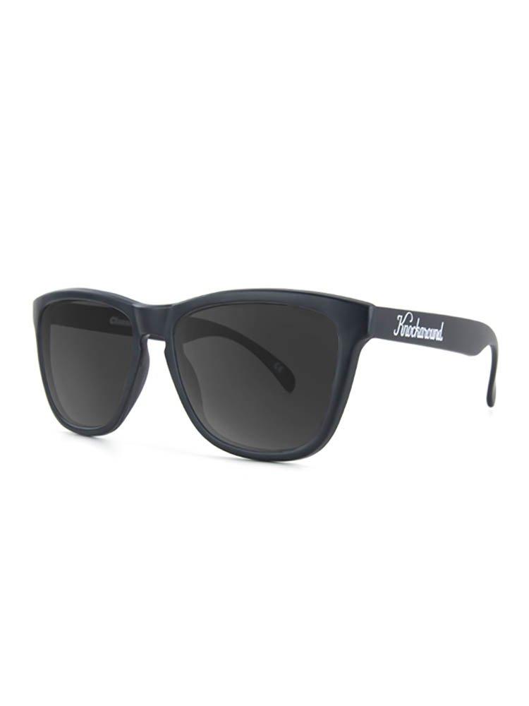 Knockaround Classics Polarized Sunglasses, Black/Smoke