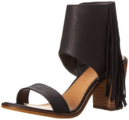Very Volatile Women's Vermont Dress Sandal, Black, 7 B US