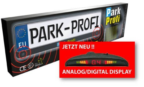 1a-Handelsagentur Park Profi Sensore di parcheggio per targhe