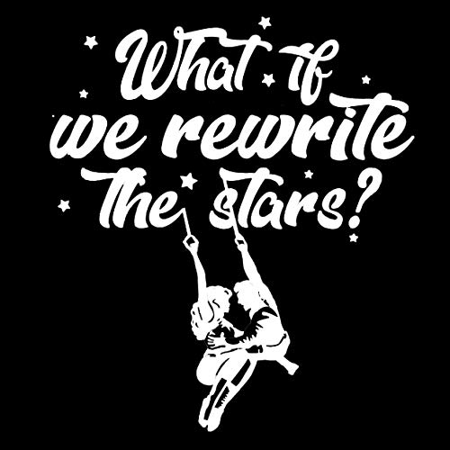 Makarios LLC Greatest Showman rewrite The Stars Cars Trucks Vans Walls Laptop MKR| White |5.5 x 4.75|MKR869