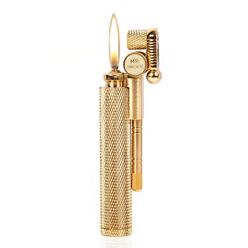 UPC 761710554718, Golden Pure Copper Diamond Cut Oil Petrol Gasoline Metal Cigarette Lighter