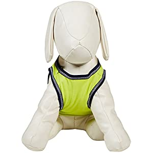 SimplyDog Bikini Inspector Dog Tank - Neon Yellow - Medium