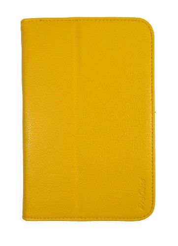 ProCase Galaxy Tab 2 7.0 Case Flip Folio Stand Case Cover for Galaxy Tab 2 7.0 GT-P3113 Tablet -Yellow