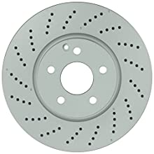 Bosch 36010983 QuietCast Premium Disc Brake Rotor For Mercedes-Benz: 2008-2014 C300, 2008-2015 C350, 2014-2016 E250, 2010-2016 E350, 2014-2017 E400; Front