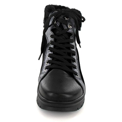Salamander Damen KIA Boots Schwarz