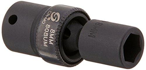 Sunex 808um 1/4-Inch Drive 8-Mm Universal Impact Socket
