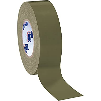 "Boxes Fast Tape Logic Duct Tape, 10 Mil, 2"" x 60 yds, Olive Green by Boxes Fast"