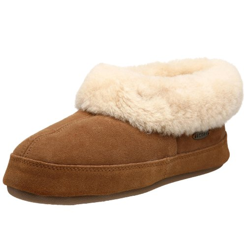 ACORN Women's Oh Ewe II Slipper, Walnut, 8 ()