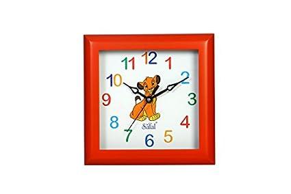 Safal Innovative Children Wooden Wall Clock