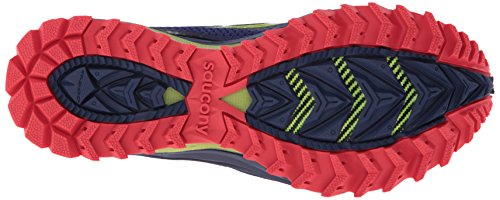 Saucony - Zapatillas de running para mujer Viola/Rosso/Verde
