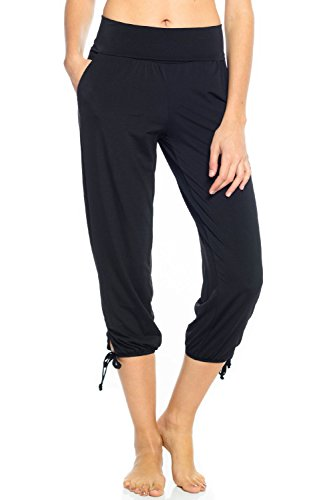 Onzie Gypsy Pant -Black-S/M Womens Active Workout Pant Black