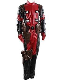 X-Men Deadpool Overall Battleframe Cosplay Costume