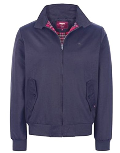 Da Uomo Giacca Blu Merc London jacket Harrington Of qUXUPO