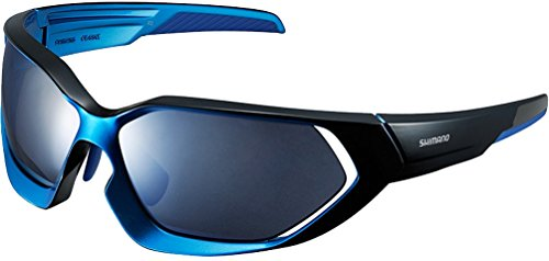 Shimano X-Series Sunglasses - CE-S51X (BLACK-MATALLIC BLUE/BLUE - Shimano Sunglasses