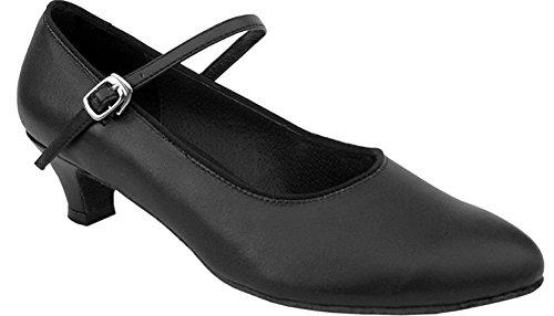 Chaussure Basique De Danse De Salon (9.5m, Noir)