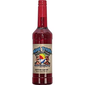 Cotton Candy Snow Cone Syrup - Made with Pure Cane Sugar