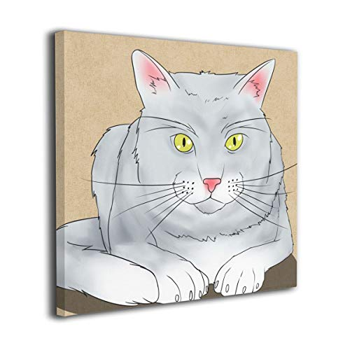 Hanging Decorations Cat Wall Art Decor for Bedroom,Bathroom,Walkway,Living Room Ready to Hang
