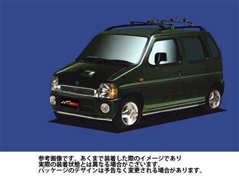 システムキャリア AZ-ワゴン 型式 CY51S CY21S CZ21S FH0 マルチホールド 1台分 タフレック TUFREQ B06Y131YY6