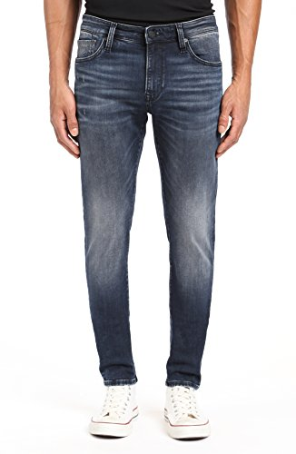 Mavi Men's James Skinny Jeans, Ink Brushed Authentic Vintage 32 X 32