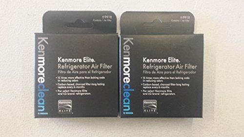 2 Pack (Genuine) Refrigerator Air Filter for Kenmore Elite 46-9918