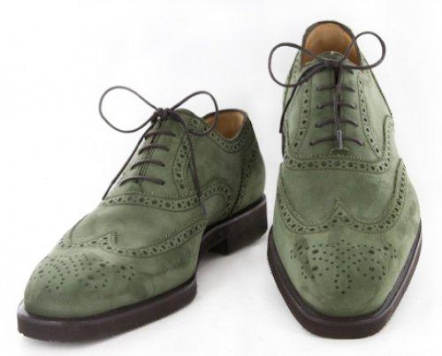 New Sutor Mantellassi Green Shoes 8/7 4z5Wm3