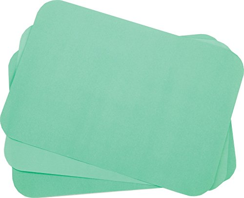 Primo Dental Products TCBGR Tray Cover Ritter, 8.5'' x 12.25'', ''B'' Green (Pack of 1000)