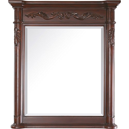 Avanity Provence 36 in. Mirror in Antique Cherry finish - Antique Finish Table Mirror